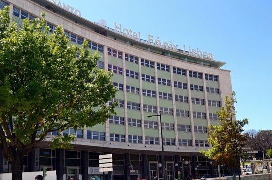 HF Fenix Lisboa: Общий вид отеля