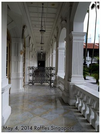 Raffles Hotel Singapore : The Raffles - Entrance for the suites