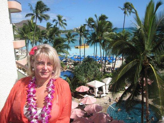 The Royal Hawaiian, a Luxury Collection Resort : Номер и вид восхитительны!