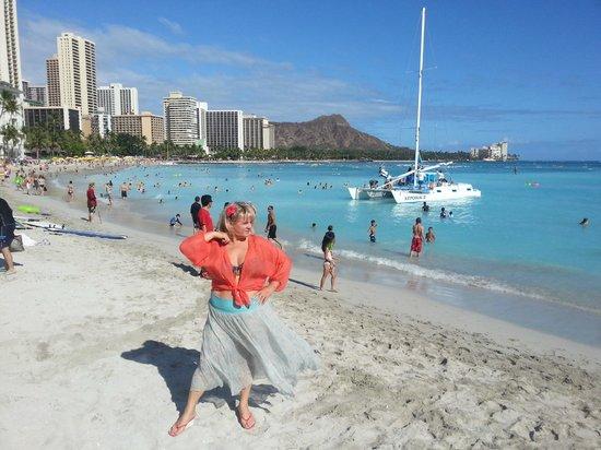 The Royal Hawaiian, a Luxury Collection Resort : Лучший пляж!