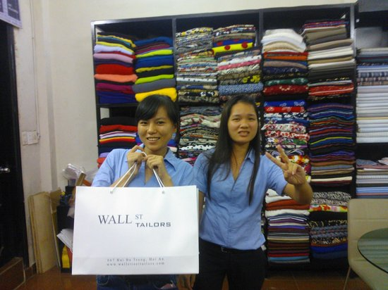 Wall Street Tailors : Here's our tailors