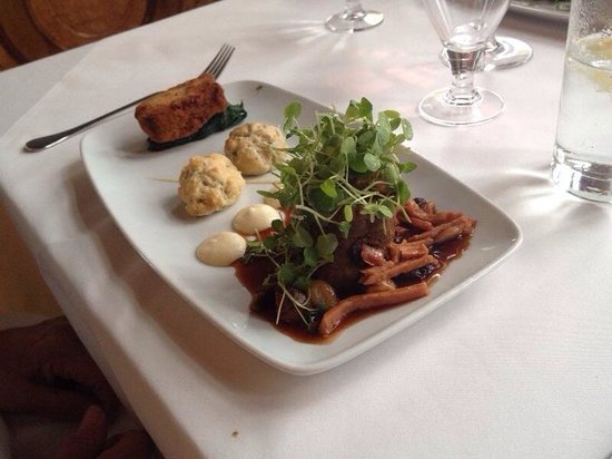 Warner Leisure Hotels Thoresby Hall Hotel: Trio of beef