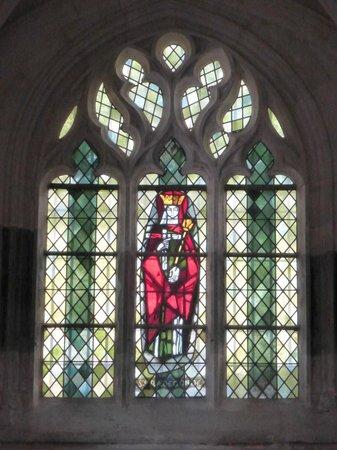 Église Sainte-Radegonde de Giverny : Stained Glass Window