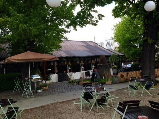 Zur Alten Kaisermuhle : the outside