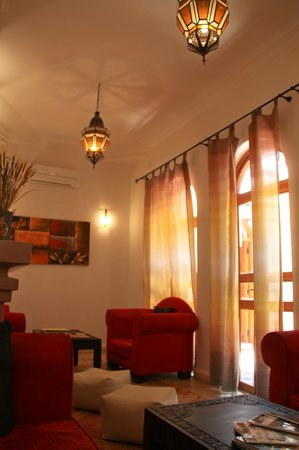 Riad Mariana : lounge