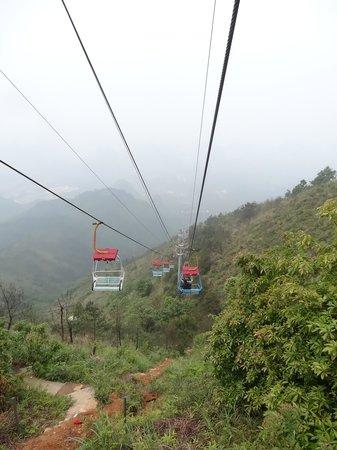 Guilin Yaoshan Mountain Scenic Resort: Cable car