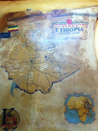 Tomoca: coffee map