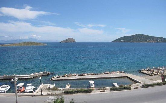 Porto Rafti, اليونان: vew from balcony