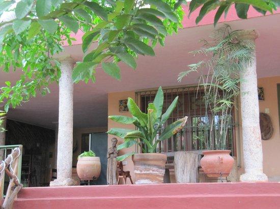 Casa Hamaca Guesthouse : Veranda