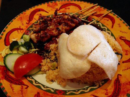 Satebar Indonesia : Soy Chicken, overpriced, salty, overlooked.