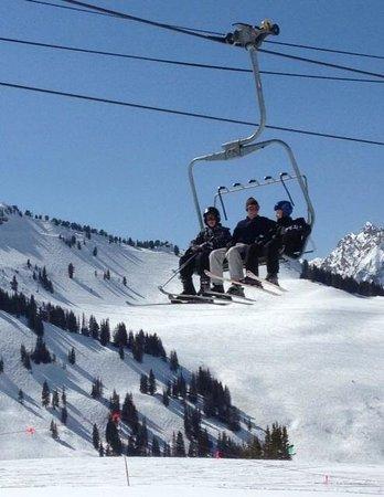 Alta Ski Resort: Bluebird Day