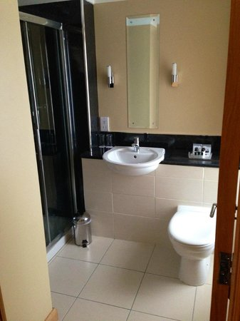 Burnett Arms Hotel: Bathroom