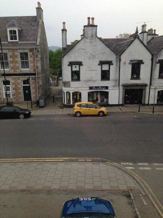 Burnett Arms Hotel: View from room