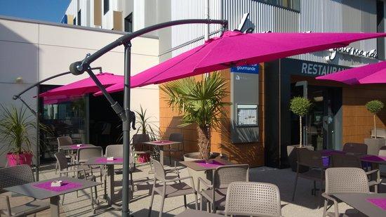 Hotel Kyriad Auray - Carnac : terrasse