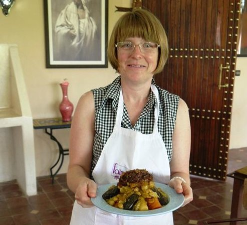 L'atelier Faim d'Epices : Claire's Couscous with beef and 7 vegetables
