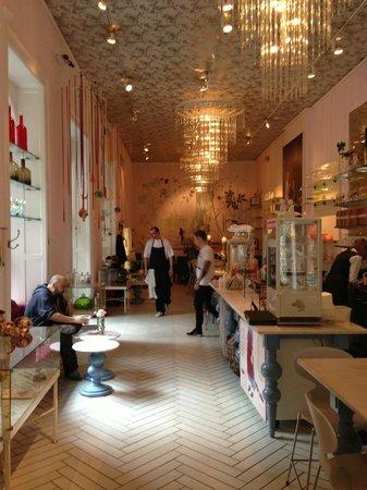 Decor at The Royal Cafe