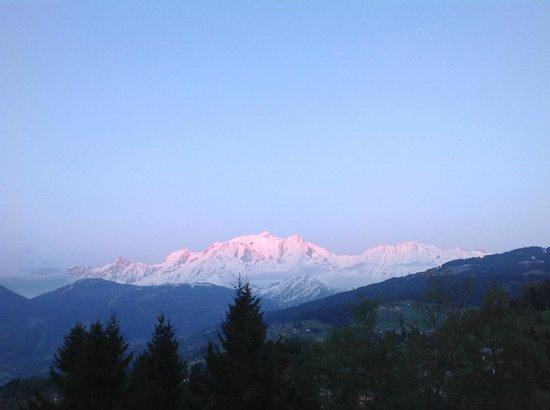 Résidence Goélia La Grande Cordée : vue mont blanc