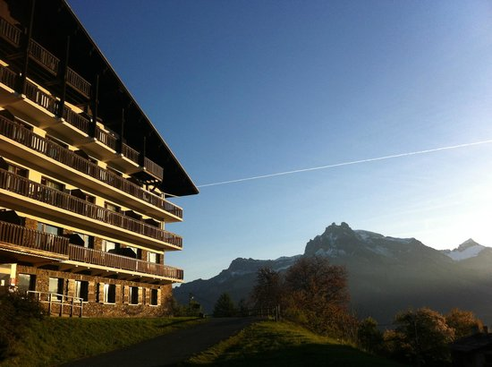 Residence Goélia La Grande Cordee: au soleil levant