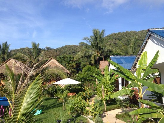 Le Coco De Mer Bungalows & Restaurant : Kep Mountains