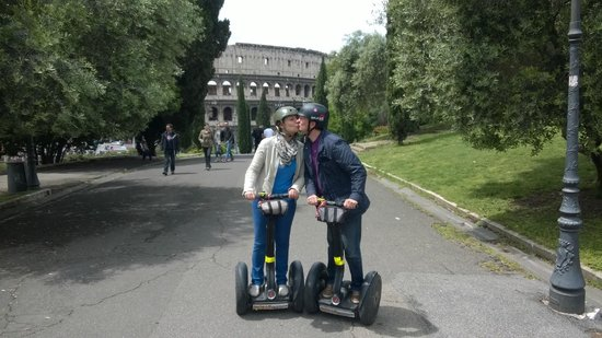Rome by Segway : Love in Rom