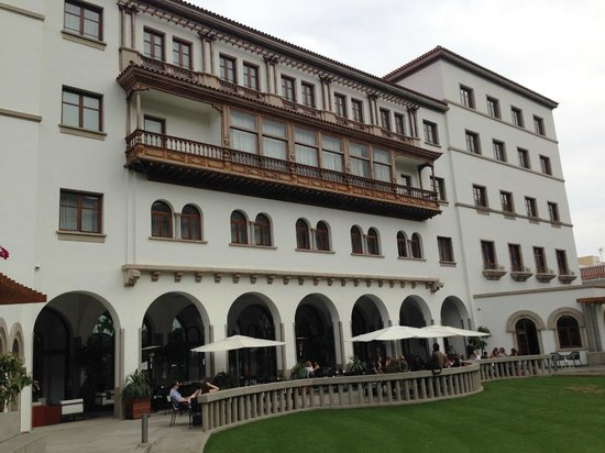 IBEROSTAR Grand Hotel Mencey: Facciata ingresso
