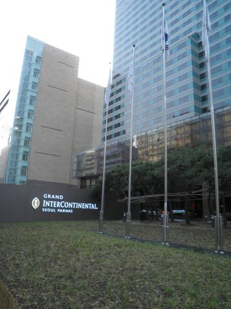 Grand InterContinental Seoul Parnas : 入り口