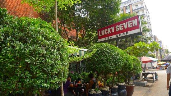 Lucky 7: Lucky Seven is hidden behind lush greeneries