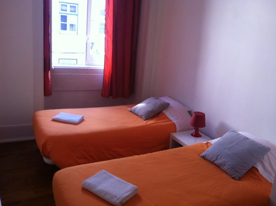 Lisbon RiverView Hostel: A 2 person room