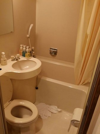 Tokino Yu: The plastic bathroom!