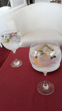 Hotel Miramar Sul : Gin preparado pelo excelente barman João Alexandre, recomendo!