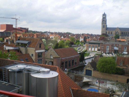 De Halve Maan Brewery: Vue des toits