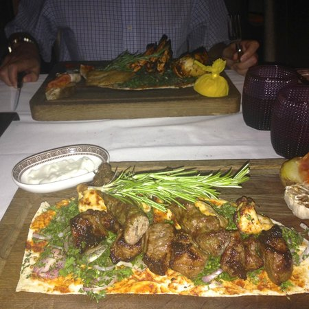 Marjan: Mixed Grill and Seafood Mix