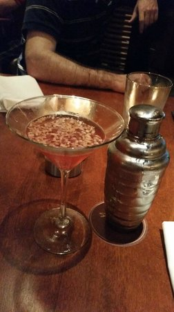 Seasons 52: toasted coconut martini