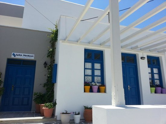 Avra Pension: lovely guesthouse