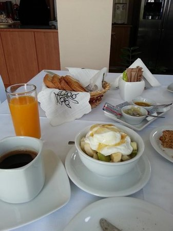 Avra Pension: very fresh and tasty breakfast