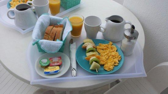 Summer Inn Parikia: Amazing breakfast