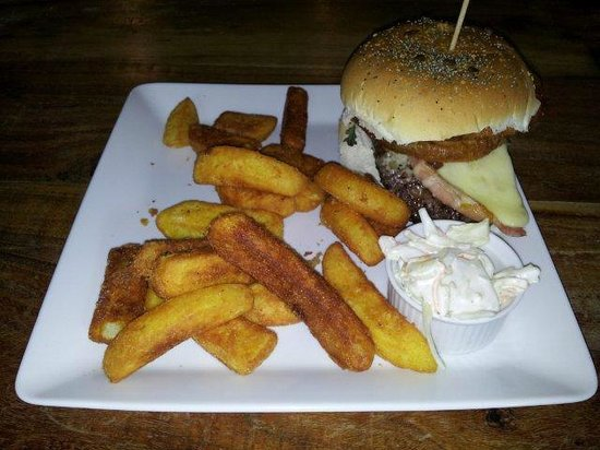 Foresters Arms: Homemade Beef Burger Stack