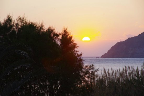 Hotel Boulis : Sun-set from the room