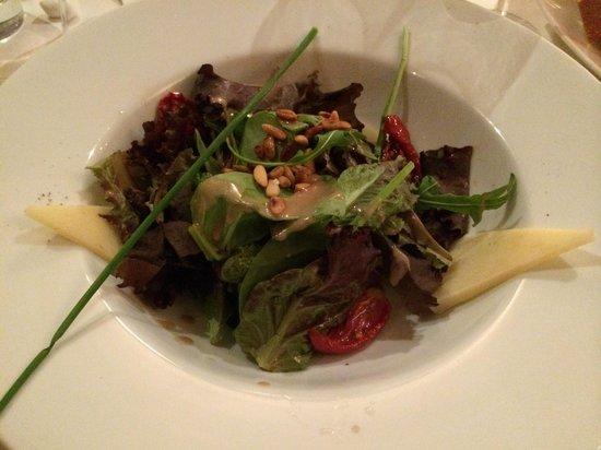 Bel Canto Restaurant: starter salad
