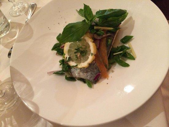 Bel Canto Restaurant: fish entree