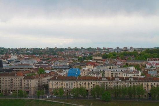 Radisson Blu Hotel Lietuva: View from the 19th floor