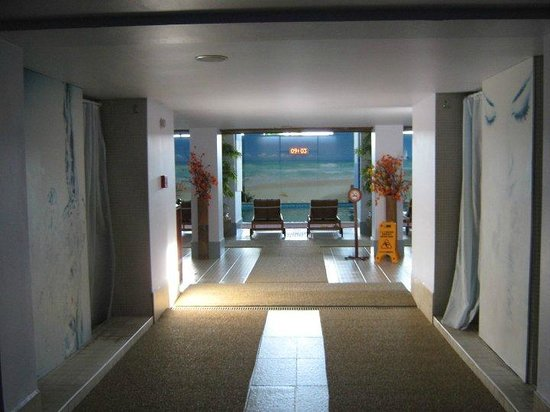 Ilica Hotel Spa & Thermal Resort: way to the pool