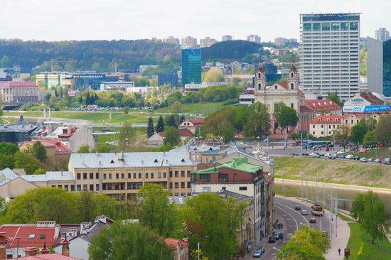 Radisson Blu Hotel Lietuva: Hotel location