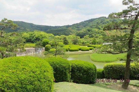 Nanrakuen Garden : 新緑が良かった