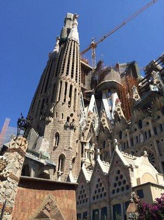 Gaudi Sagrada Familia: la sagrada familia a barcelone