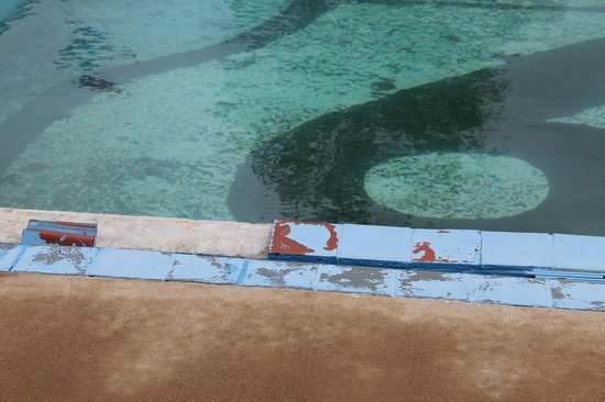 Route 66 Hotel And Conference Center: Pool missing tiles