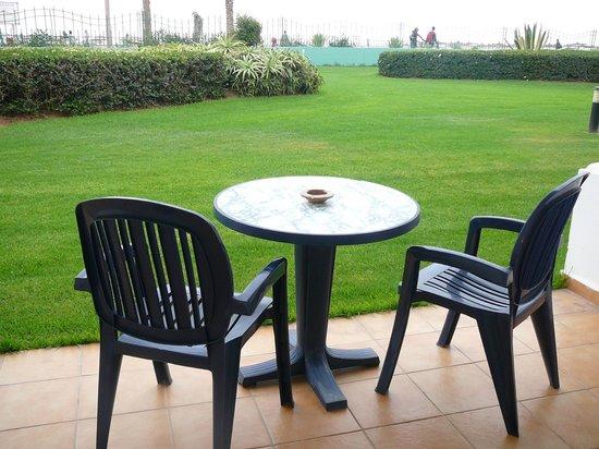 IBEROSTAR Founty Beach : La terrasse de la chambre