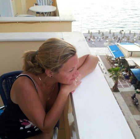 Mantas Seaside Hotel : Вид с балкона