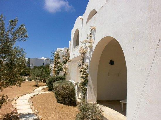Djerba Sun Club: Entrée des chambres
