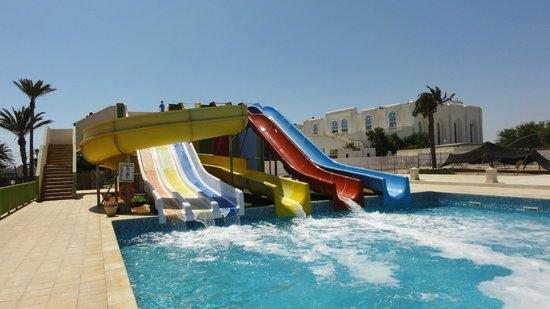 Djerba Sun Club: Water park, les enfants adorent!